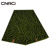 CNACI 100% Polyester African Print Veritable Real Wax Fabric 6 Yards Free Shipping Ankara Fabrics Batik For Wedding
