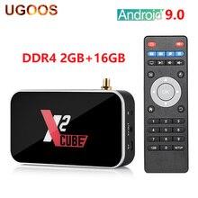 UGOOS X2 CUBE Smart TV Box Amlogic S905X2 Android 9.0 2GB DD