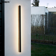 Simple New Modern LED Wall Lights With Remote Living Room Bedroom Aisle Porch Balcony Indoor Lamps Lighting Outdoor Waterproof