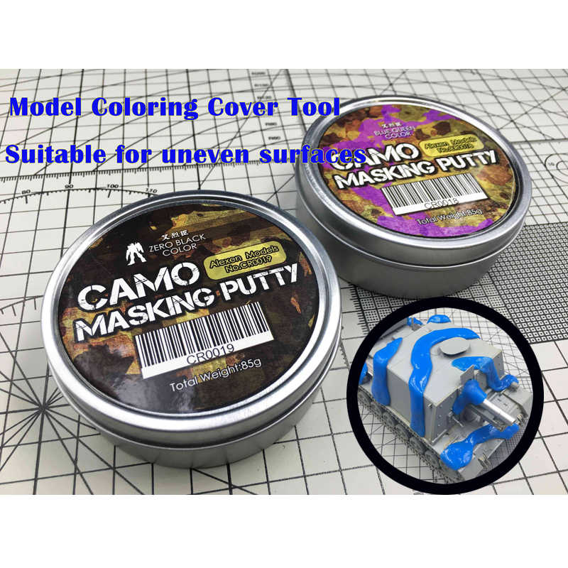 1pc CAMO Camouflage Masking Stopverf UNIVERSELE VOOR Gundam Militaire Model KITS Tank Auto Spuiten Tool