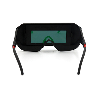 Solar Eyes Goggles Safety Photoelectric Anti-Glare Helmet Welding Mask Automatic Glasses Protective 6 mm thickness for construc 3m 10197 safety potective welding goggles glasses ir 5 0 scratch resistant anti uv coating genuine working eyes protective