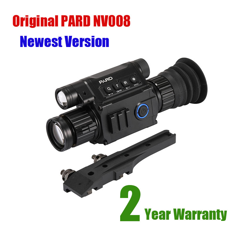 PARD NV008 Infrared Night Vision Scope Wifi APP 6 5 12X IR night Vision Riflescope 5w
