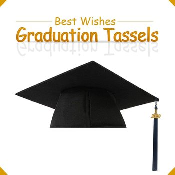 2020 Graduation Tassel Student Graduation Bachelor Hat Tassel Graduation Ceremony Group Photo Bachelor Hat Tassel 5 Colors image