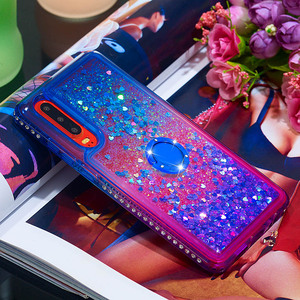 Image 4 - Gevallen voor Huawei Honor 10i P30 P30 Lite Pro Y6 Y7 Pro Prime Genieten 9 9s P Smart Cover TPU Liquid Quicksand Diamond Giltter Coque