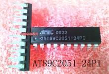 Novo original AT89C2051-24PI AT89C2051-24P1 at89c2051 dip-20 de alta qualidade