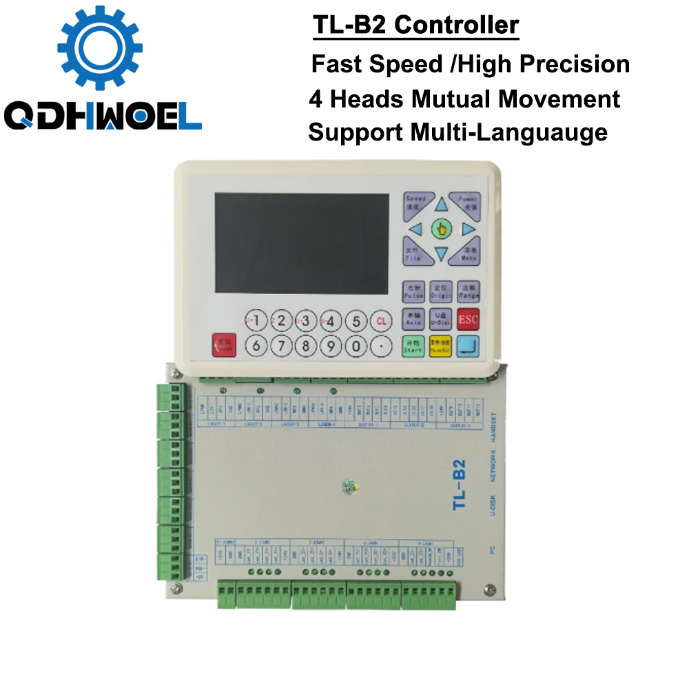 TL-B2 High-End Co2 Laser Controller For Large Laser Cutting Machines