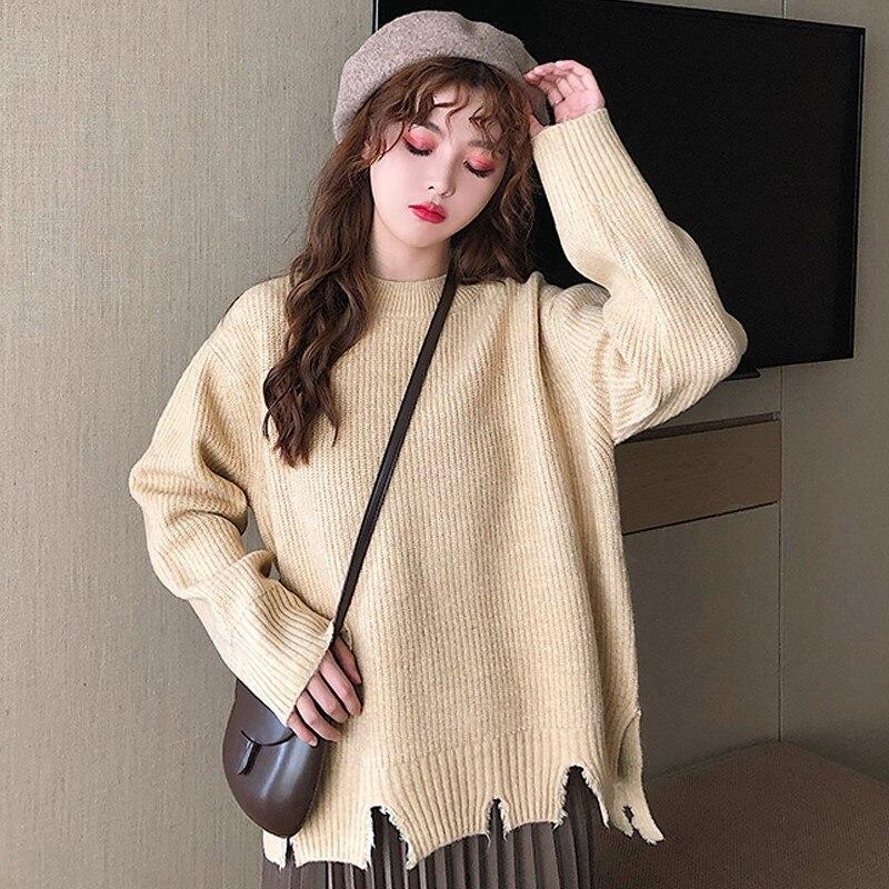 Купить новый свитер с круглым вырезом 2020