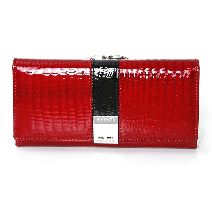 Luxury Brand Women Wallets Cow Leather Purse Women Long Luxury Designer Woman Wallet Leather Genuine Purses