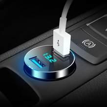 Мобильный телефон с быстрой зарядкой, зарядное устройство USB 3,0 для Hyundai Accent ix35 iX45 iX25 i20 i30 Sonata Verna Solaris Elantra