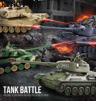 Tank RC Remote Control Rc Battle Tank Remote Control Tiger Tank Radio Rc Army Battle Model Tank Millitary Rc Tank Kit Toy Boy 1 32 rc war tank tactical vehicle main battle military remote control tank with shoot bullets model electronic hobby boy toys