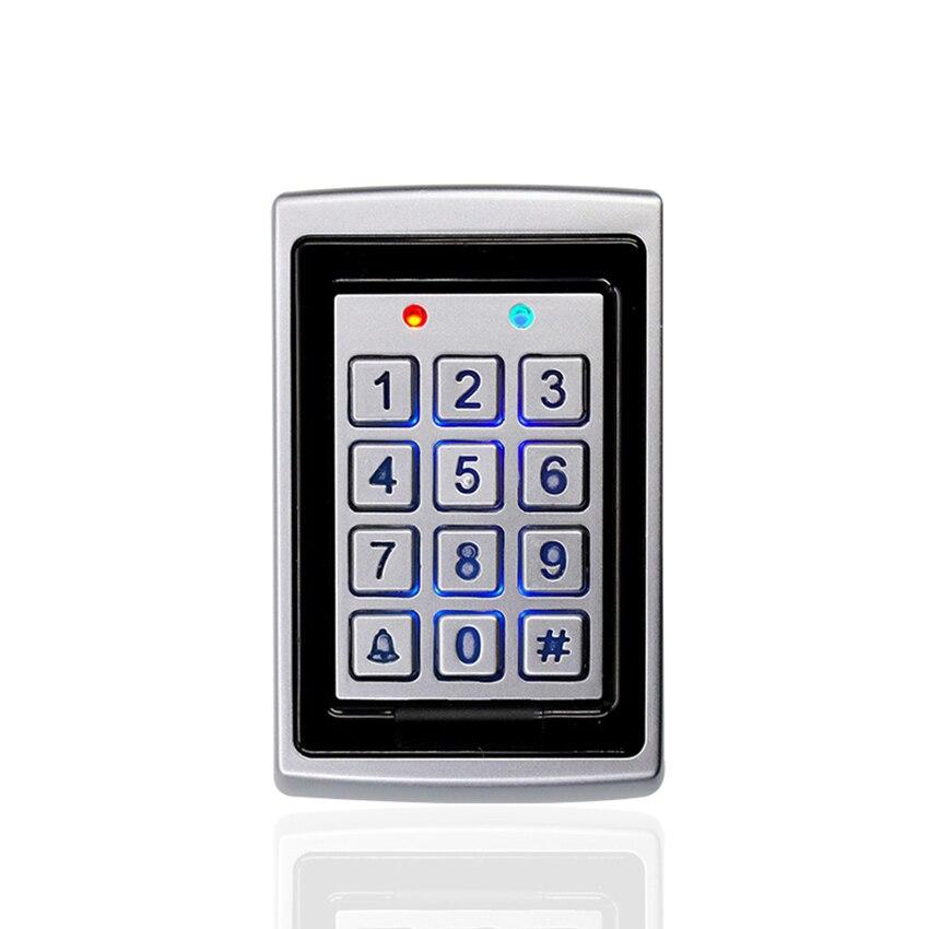 Клавиатура управления доступом Водонепроницаемая 26 PIN код RFID Клавиатура с подсветкой контроль доступа 1000 пользователей клавиатура для