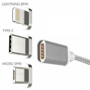 Image 5 - Câble magnétique USB USB Type C de Charge rapide chargeur magnétique chargeur de données câble Micro USB câble de téléphone portable cordon USB