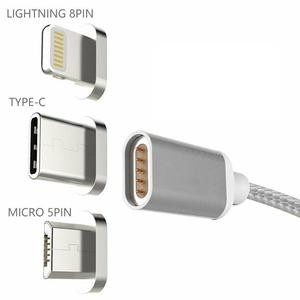 Image 5 - USB Magnetic Cable Fast Charging USB Type C Magnet Charger Data Charge Micro USB Cable Mobile Phone Cable USB Cord