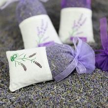 10Pcs Empty Lavender Bags Floral Printing Fragrance Pouch Sachets Bag Home Fragrance Sachets Lavender Sachet Bag for Relaxing