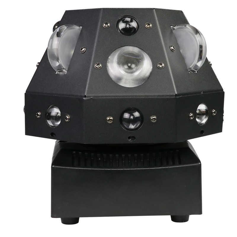 4 in 1 bühne laser licht DMX 180 ° rotation bunte LED licht DJ disco home entertainment strahl zeigen projektor