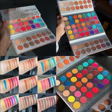 Beauty Glazed 63 Colors Fashion Eyeshadow Palette Toning Pearlescent Matte Shiny Makeup Nude Shadow Paint