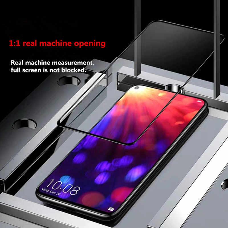 9D temperli cam için Huawei onur 9 10 20 Lite 9i 10i 20i 8X 8A 8C 8S ekran koruyucu güvenlik koruyucu cam filmi kılıfı