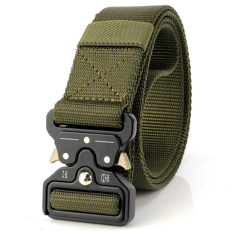2020 Hot Mens Tactical Belt Military Nylon Belt Outdoor Multifunctional Training Belt High Quality Strap Ceintures