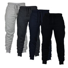 Mens Skinny Sweatpants Trousers Joggers Casual Pants Fitness Men Sportswear Tracksuit Bottoms Black Gyms Jogger Track Pants 5XL