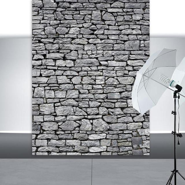 Brick Stone Texture Wall Photography Backdrops Wooden Floor Backgrounds for Toy Photo Studio Baby Shower Newborn Children Photo