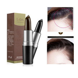One-Time Hair Dye Instant Gray Root Coverage Hair Color Modify Cream Stick Temporary Cover Up White Hair Colour Dye Wax TSLM2