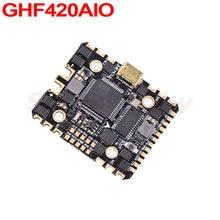Atualizado jhemcu ghf420aio 20a 35a 4in1 sem escova esc f4 osd fc controlador de vôo blheli_s 2-6s controlador de velocidade palito fpv rc