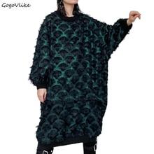 Plus Size Lace Dress Fall New Women's Ca