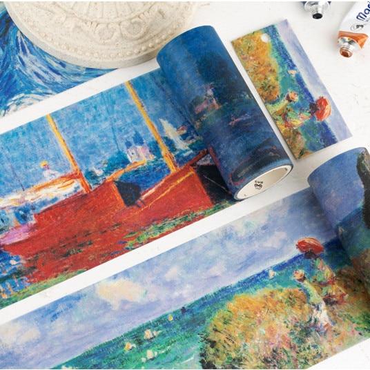 Master Van Gogh Painting Washi Tape Diy Scrapbooking Sticker Label Masking Tape School Office Supply