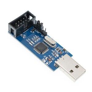 Image 3 - 10 قطعة جديد USBASP USBISP AVR مبرمج USB ISP USB ASP ATMEGA8 ATMEGA128 دعم Win7 64K