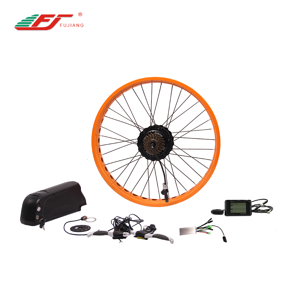 750w ebike motor conversion kit including 48v battery and charger