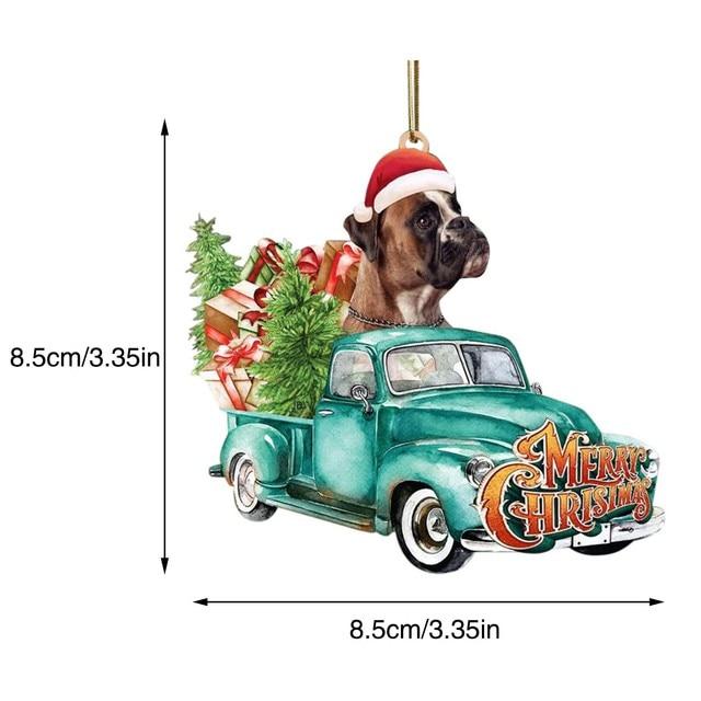 Dog Lovely Christmas Tree Gift 6