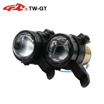 BSSPHL Car-Styling driving light HD 2.5 Bi-xenon high-definition spotlight lens fit for Chevrolet AVEO match H8 H9 H11 bulbs