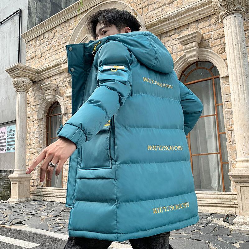 2020 Мужская зимняя длинная парка модная теплая утепленная парка верхняя одежда ветрозащитная крутая куртка с капюшоном Размер M 3XL|Парки| | АлиЭкспресс