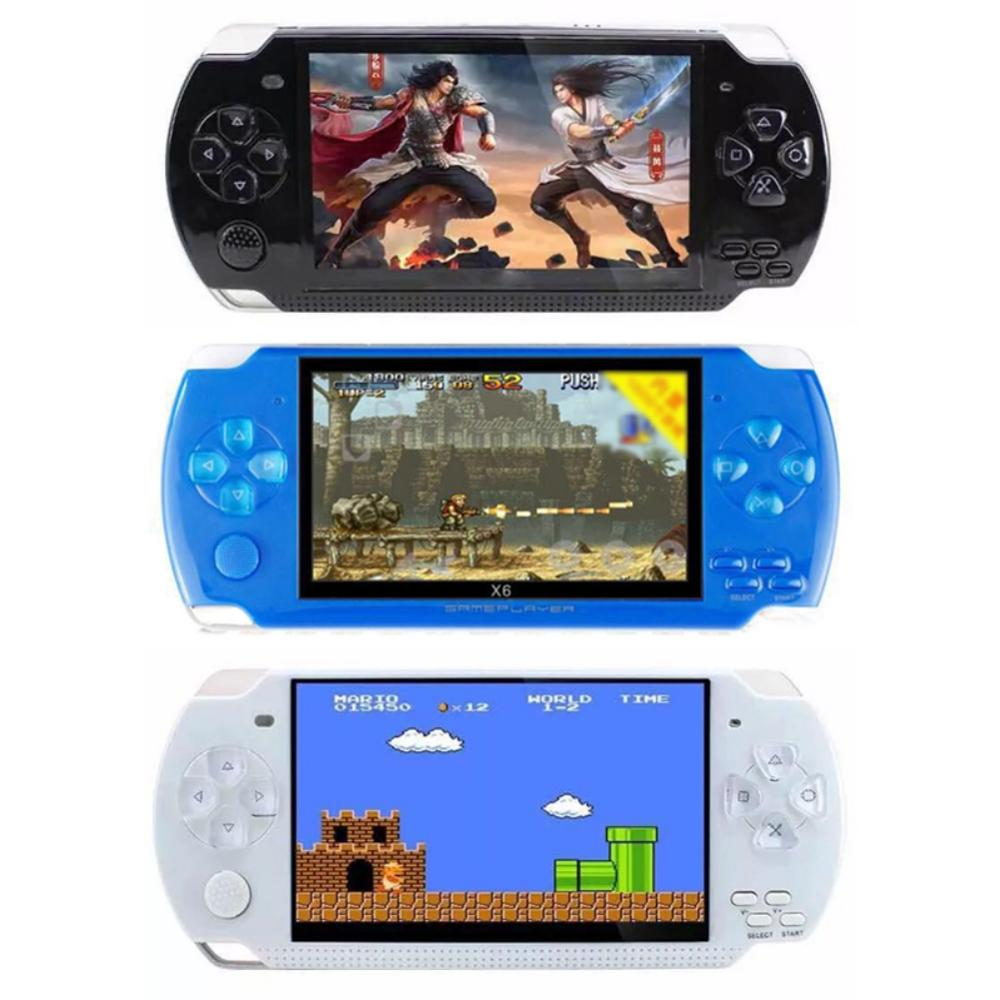 "4.3"" Game Player Game Console 8GB Multifunction Handheld Retro Entertainment Game Console Pocket Size with Rechargeable Battery"