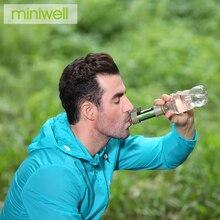 Purificador de agua Miniwell soldier survival para zonas en disputa, zonas antimotrices y zonas remotas