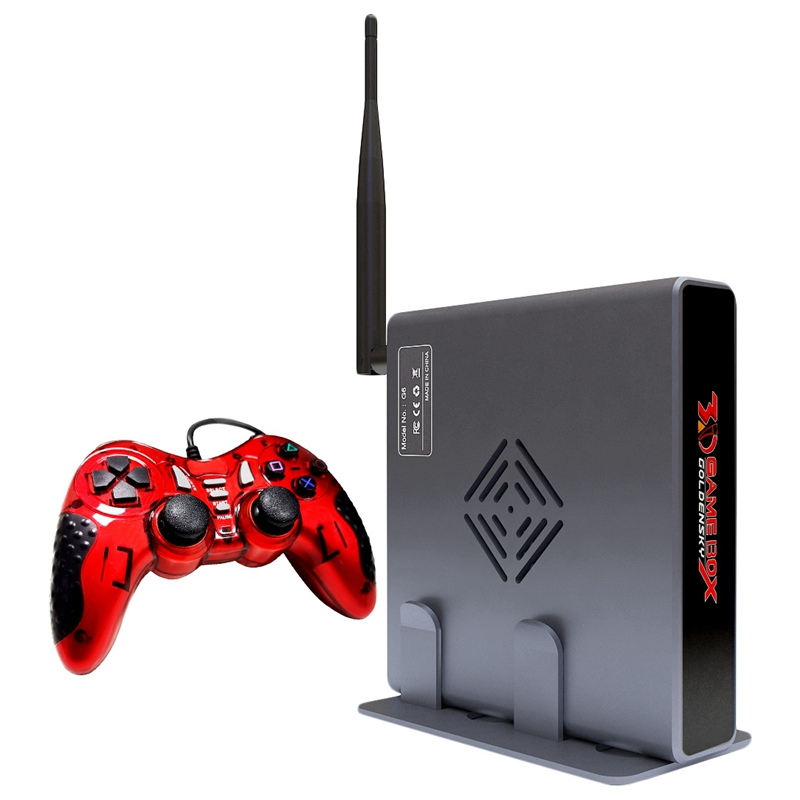 Hot 3C-4K HDMI TV Gaming Edition Host 3D Video Game Console Machine Build-In 2000 Free Game with WIFI Support All Game Emulator image
