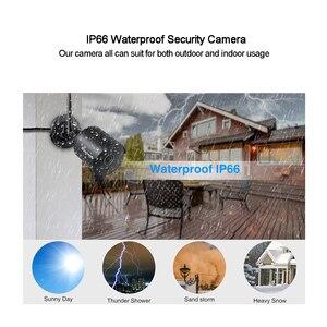 Image 4 - Techage Wifi IPกล้องกลางแจ้ง1080Pกันน้ำ2.0MP Wireless Securityกล้องสองทางเสียงบันทึกบัตรTF Onvifการเฝ้าระวัง
