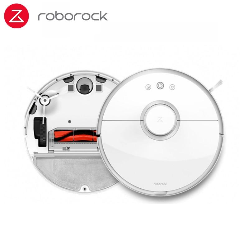 Versão internacional roborock aspirador de pó 2 s50 s55 varrendo e molhado esfregar pó robótico inteligente plano caminho xiaomi