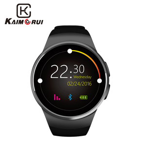 Image 5 - Kaimorui KW18 Bluetooth Smart Horloge Sim kaart Hartslag Tf Card Mannen Sport Horloge Telefoon Smartwatch Voor Xiaomi Huawei Ios telefoon
