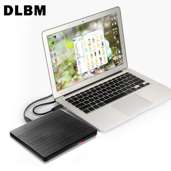 External DVD Writer USB 3.0 DVD-RW Burner Slim DVD Recorder Portable Optical Drive CD-ROM For Laptop Computer Pc Windows 7/8 usb dvd drives optical drive external dvd rw burner writer recorder slot load cd rom player for apple macbook pro laptop pc 24x