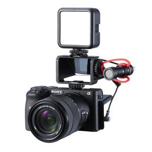 Image 4 - Uurig Camera Màn Hình Lật Giá Đỡ Với Ba Giày Lạnh Để Gắn Micro Đèn LED Video