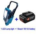 Для DeWalt Makita Milwaukee Bosch 18 в 20 в литий-ионный аккумулятор  электрический инструмент  часть для украшения дома  строительный светодиодный светиль...