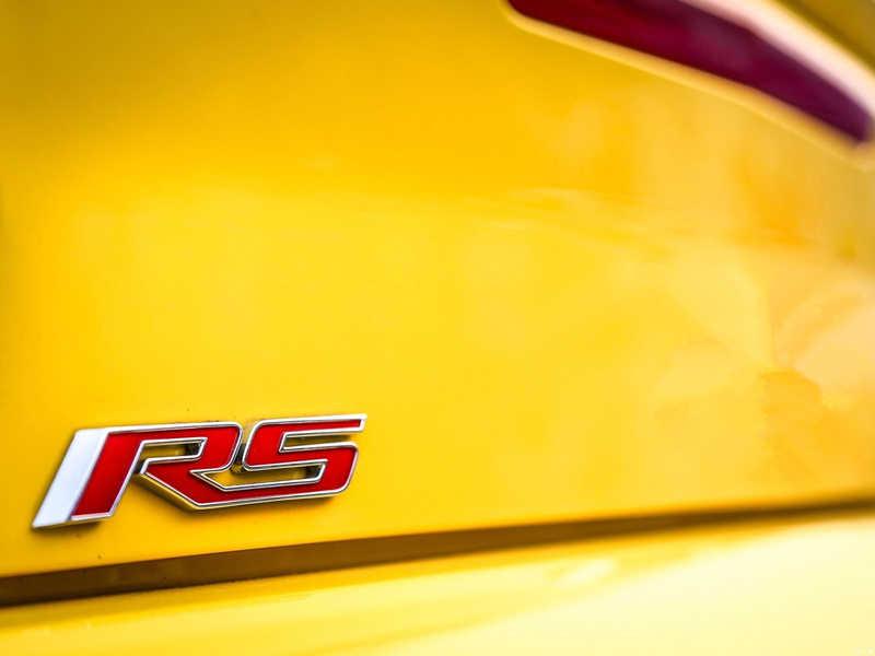 3D metal araba gövde araba çıkartmalar araba aksesuarları için Chevrolet Camaro RS SS araba sticker