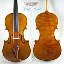 """Скрипка """"The Harrison"""" 1693, мастер-модель, Топ ручной работы масляного лака, no.1066. Античная скрипка, отличная установка"""