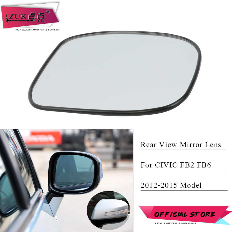 Genuine Honda Civic Left Side Mirror Glass 2012-2016