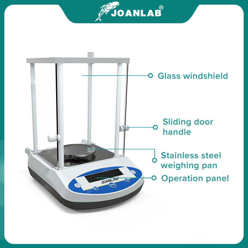Digital Analytical Balance Laboratory Scales Microbalance Electronic Precision Balance Scale 200g 300g Range 0.001g Resolution 5