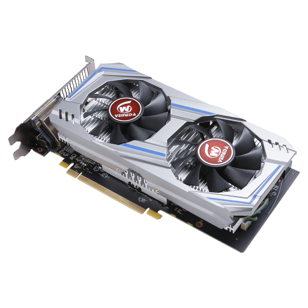 Image 2 - Veineda Video Card Radeon RX 570 8GB 256Bit GDDR5 1244/7000MHz Graphics Card PC Gaming for nVIDIA Geforce Games rx 570 8gbGraphics Cards   -