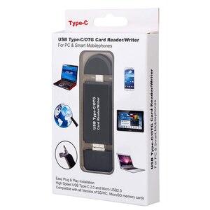 Image 5 - Lecteur de carte SD USB 3.0 OTG lecteur de carte Micro USB Type C lecteur de carte mémoire SD lecteur pour Micro SD TF USB type c OTG Cardreader