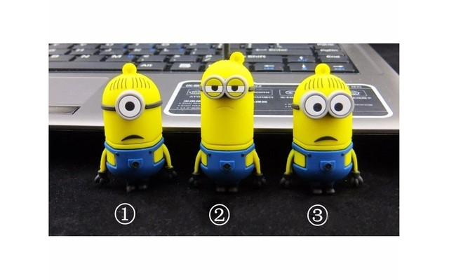 Cartoon Character Shaped USB Stick Memory