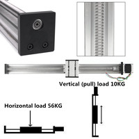 400MM1204 Ball Screw Linear CNC Z Axis Slide Stroke  Actuator Stepper Motor Kit  DIY Linear Motion Milling Kit|Woodworking Machinery Parts| |  -